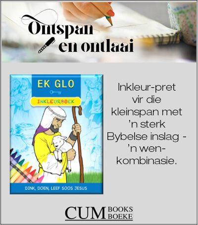 Kinders sal dit geniet om kleurvolle lewe aan die prentjies in Ek glo – Inkleurboek te gee terwyl hulle leer om meer soos Jesus te lewe.