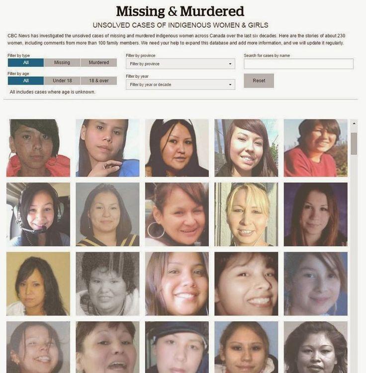 Missing and Murdered Women: Missing, murdered aboriginal women crisis demands ...