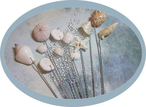 25  best ideas about seashell bouquet on pinterest