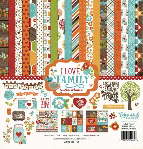 "ECHO PARK PAPER Happy Halloween Collection Kit*12/""x12/"" Scrapbook Paper Papercraf"