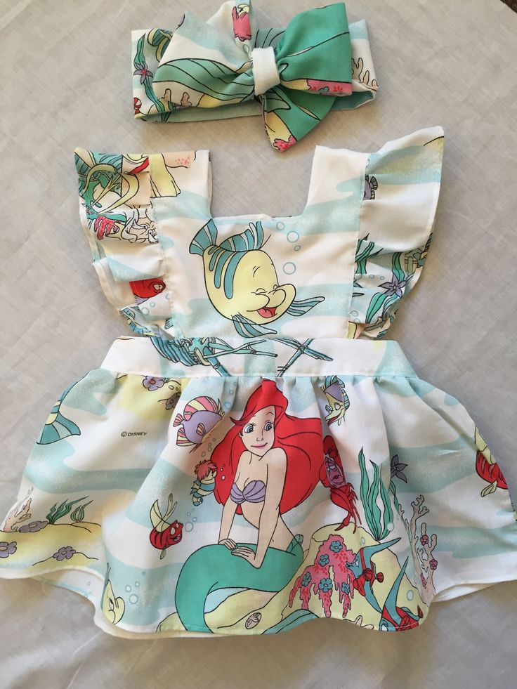 Vintage The Little Mermaid Toddler Dress • Perfect Disney outfit or for an Ariel Birthday Party! • Shop www.etsy.com/shop/Hausofhalo | Visit @Hausofhalo on Etsy | Facebook | Instagram!