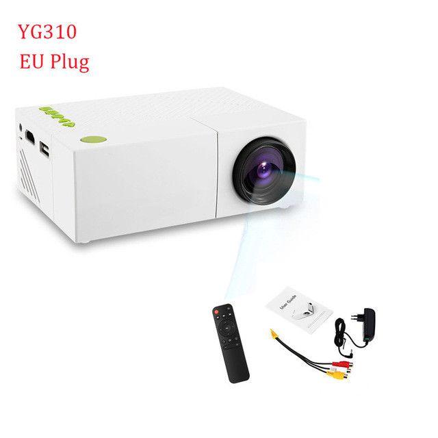LED Portable Projector 3.5mm HDMI USB Mini Projector Home Media Player