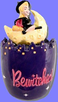 Bewitched Cookie Jar.