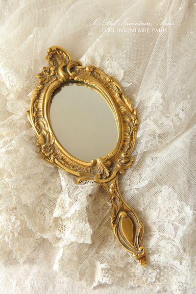 パリの蚤の市で見つけたアンティーク手鏡 - O Bel Inventaire-Bis*アンヴァンテール・ビス*