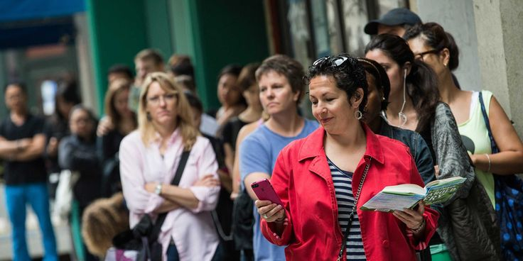 Why are you willing to wait so long in line for a Shake Shack burger or the latest iPhone? Experts explain the psychology.