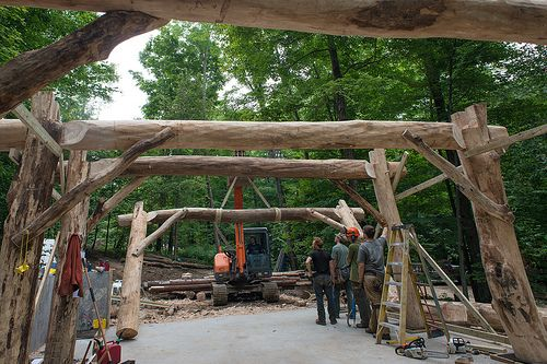 Grindbygg Timber Framing: Day Seven