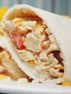 Southwest Chicken Wraps Recipe ~ couldn't be easier to put together and are absolutely delish