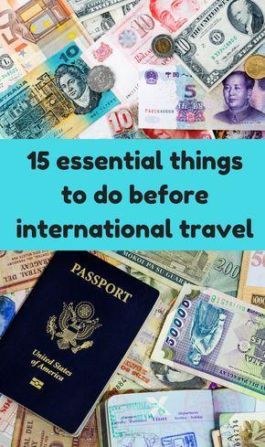The 25+ best International travel checklist ideas on Pinterest - travel checklist