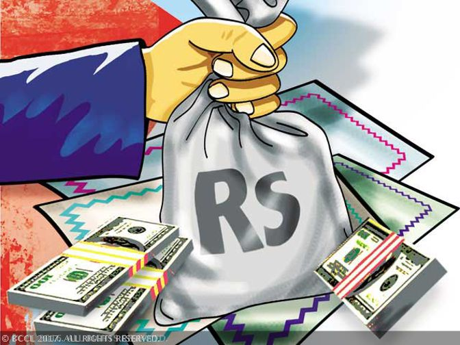 Indian rupee trims initial gains, still up 8 paise -5 June, 2017 : The rupee trimmed its initial gains but was still trading up by 8 paise to 64.36 against the US currency in late morning deals following bouts of dollar selling by some banks and exporters.
