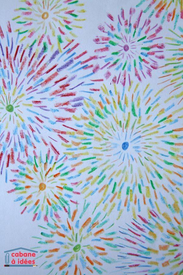 Voici un projet rapide à mener, un projet qui ne nécessite pas beaucoup de matériel et qui peut occuper longuement les enfants, puisque l'air de rien, faire des petits traits, ça prend du temps ! Le principe est simple, et l'on obtient facilement des feux d'artifice colorés et jolis. C'est une activité à faire faire à partir de 7/8 ans. Matériel nécessaire pour dessiner des feux d'artifice avec des crayons de couleur Normalement, vous devriez avoir tout sous la main puisqu'il faut :  des ...