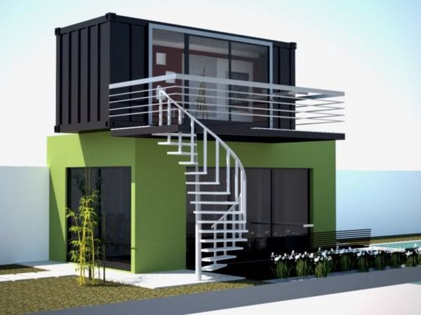1114 best images about shipping container homes on for Extension container