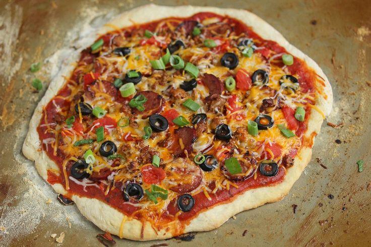 Chorizo Mexican Pizza