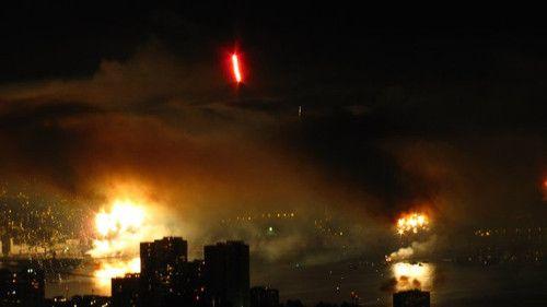 Valparaíso on fire