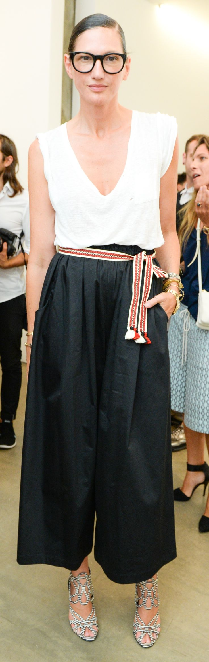 Wear pants to the party like Jenna Lyons