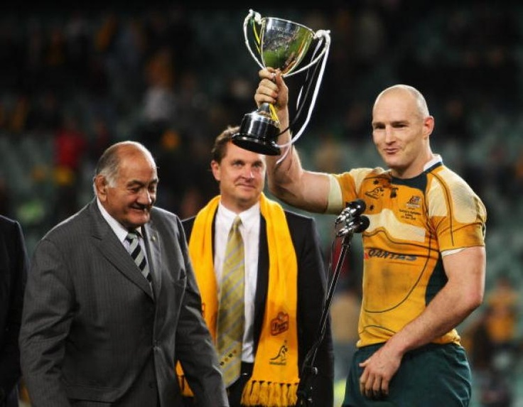 Stirling Mortlock-honour of becoming the fastest Australian to reach both 50 and 100 points, and the first Australian to score 20 or more points in four consecutive Tests. He went on to score over 1000 Super Rugby points, and just short of 500 in Tests.