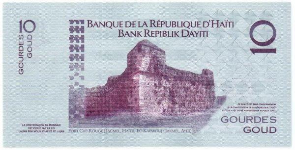 Souq 10 جورد جمهورية هاييتى Egypt Caribbean Islands Old Paper Paper Money
