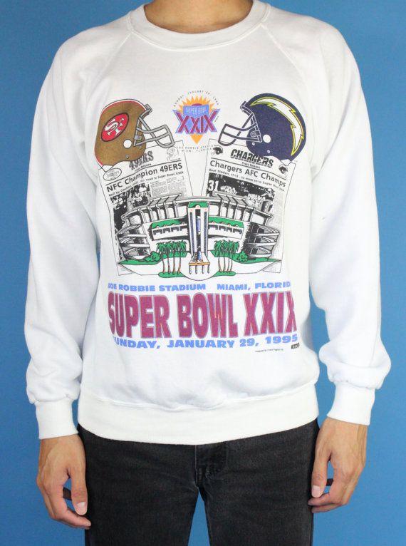 Super Bowl XXIX 1995 Miami Florida 49ers vs by DiveVintage on Etsy