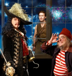 Stratford, 2010 - 'Peter Pan': 'Director Tim Carroll fuses an excellent cast and a superb design team into a presentation certain to delight... In the title role, Michael Therriault returns to the Festival... His is a Peter capable of delighting patrons and breaking their hearts, constantly juggling boyish bravado and vulnerability.' (London Free Press.) Tom McCamus plays Captain Hook. Great production - as was the Shaw version, in 2001!