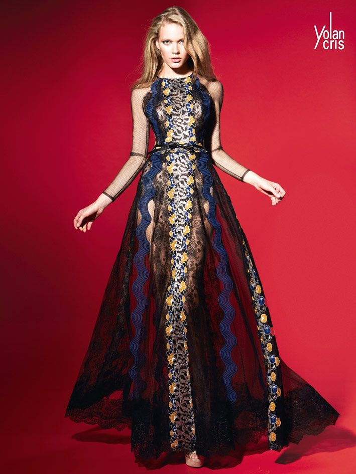 Yolancris Evening Gowns New Collection Fall Winter 2015