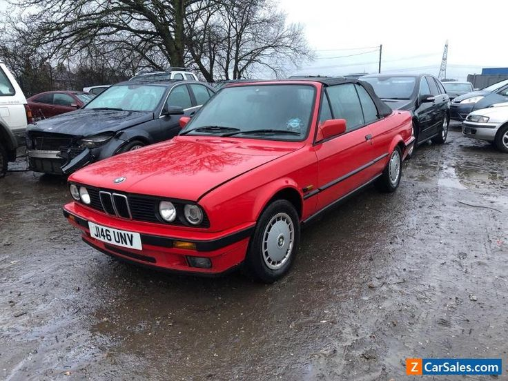 1991 BMW 318 I CONVERTIBLE PETROL MANUAL 96K HPI CLEAR E30 - 1 OWNER - BARN FIND #bmw #318 #forsale #unitedkingdom