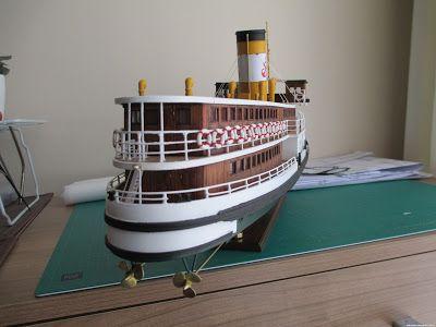 Ahşap Gemi Modelciliği: Kalender Vapuru