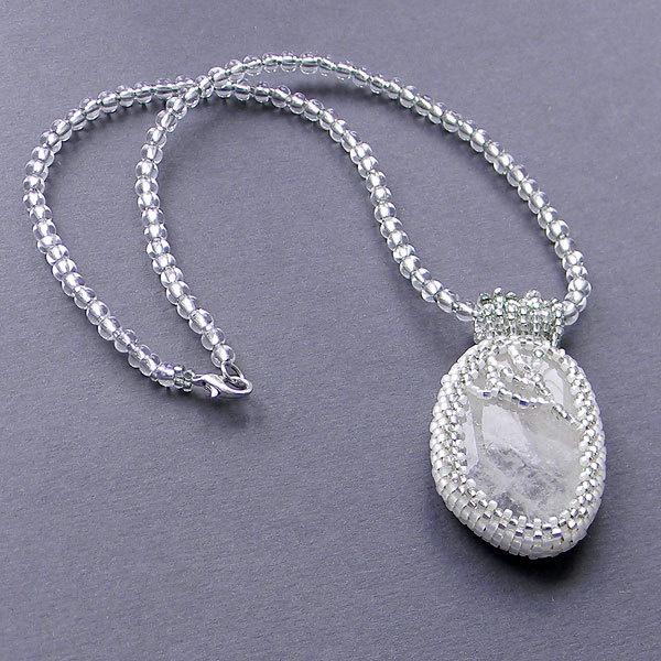 Beautiful agate pendant / necklace, white, transparent, ice.. $27.00, via Etsy.: Pendant Necklace, Etsy, Pendants Necklaces, Agate Pendants, Agate Pendant, White, Beauty Agates, Beautiful Agate