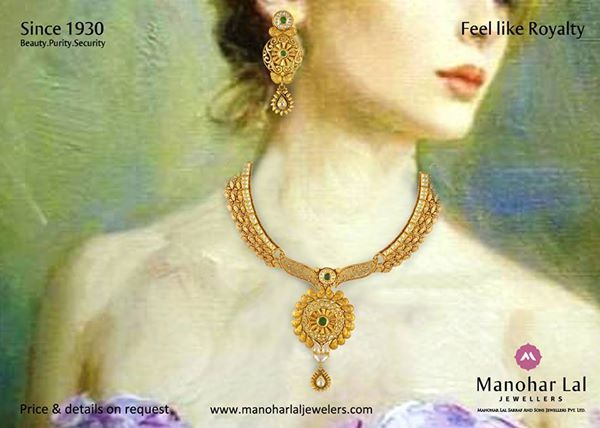 Today's #Gold-rates are : #24kt.:- Rs 27,100 #22kt.:- Rs 24,840 #18kt.:- Rs 20,330 #Platinum Rate: Rs 31,000 Visit our nearest showroom and explore our exclusive range of beautiful jewelry, designs, new arrivals & lot more. Showrooms at : Defence Colony, Kohat Enclave, Preet Vihar & Noida or, kindly visit www.manoharlaljewellers.com