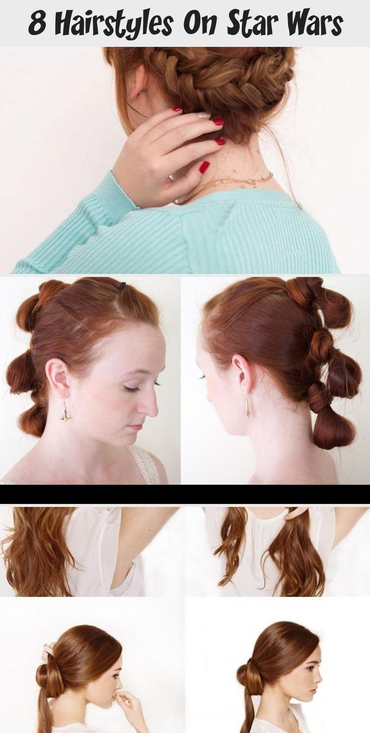 8 Hairstyles On Star Wars