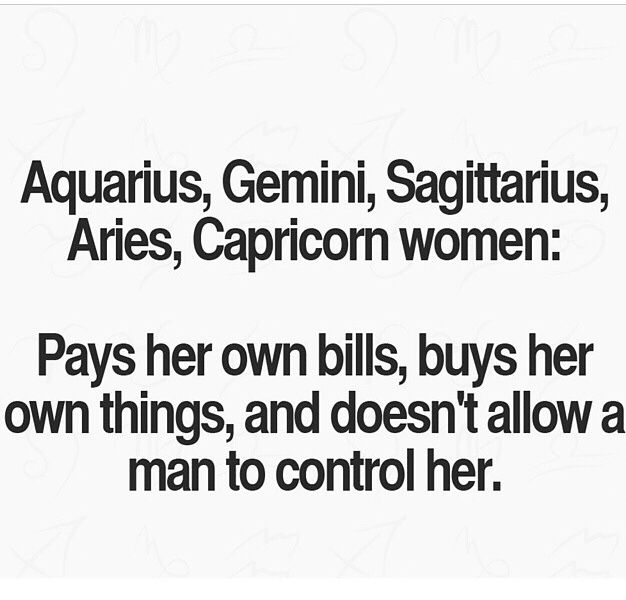 Aries and the other signs