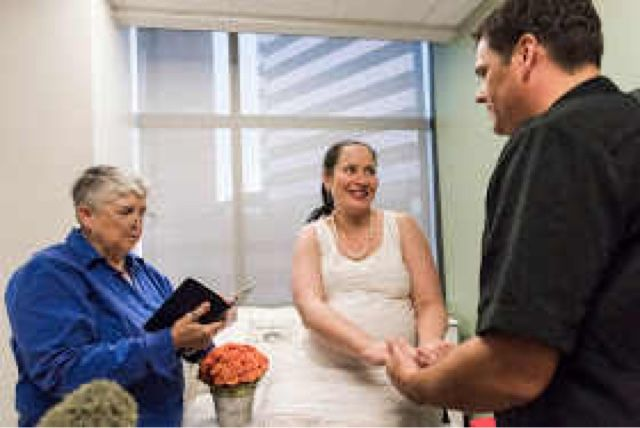 Welcome To Top Secret Zone: Woman gets married and gives birth on same day (ph...