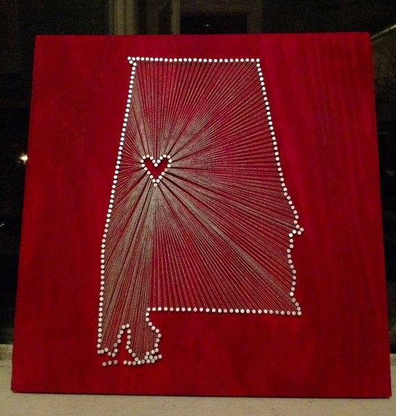 The heart of Alabama!