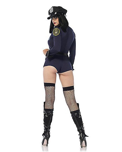 Adult Sexy Police Costume - Spirithalloween.com