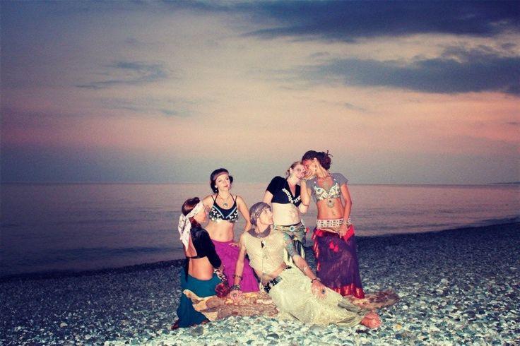 "my dance group Tribal-studio ""Flourish"" & me"