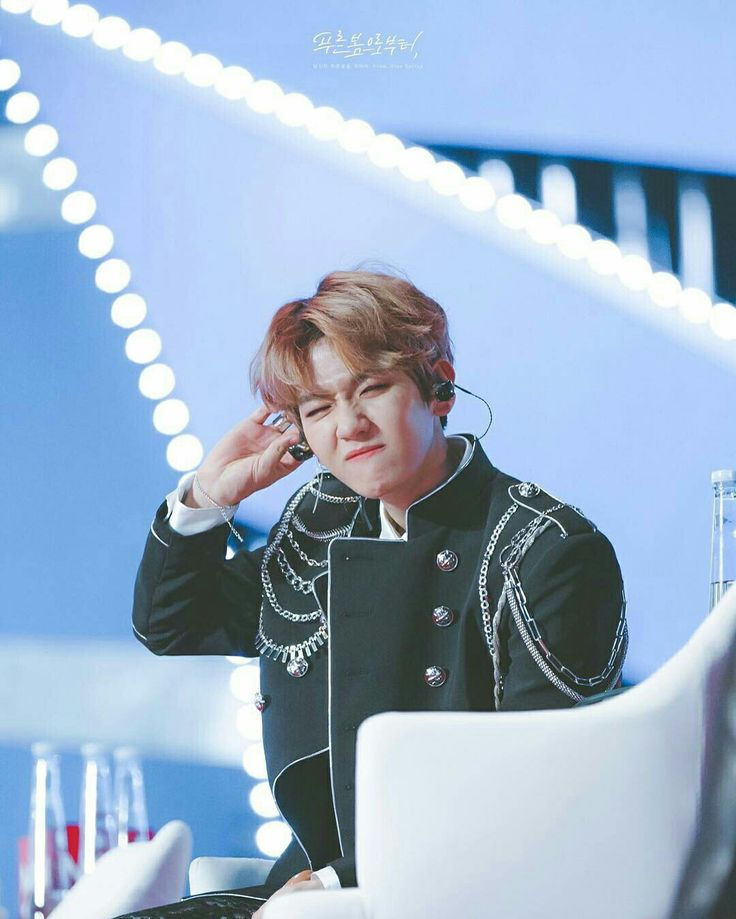 [170113] BAEKHYUN at Golden Disk Awards D-2