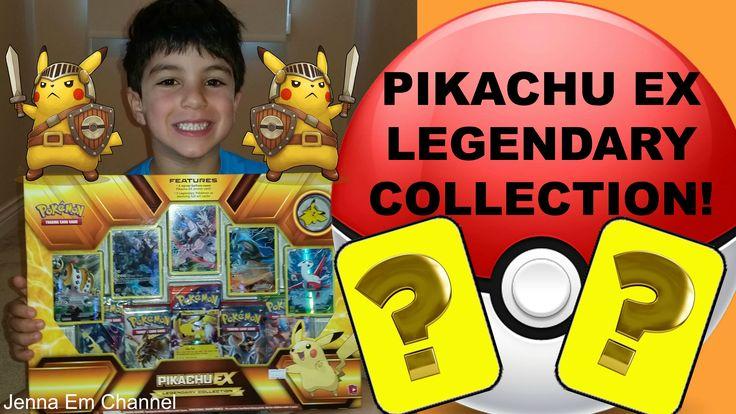 #VIDEO: My Baby Brother Opens: #Pokemon #Pikachu EX Legendary Collection Box! Jenna Em Channel  WATCH: https://youtu.be/5AMpGxVwe64