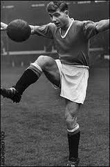 Duncan Edwards was an English footballer who played for Manchester United and the England national team. He was one of the Busby Babes, the young United team formed under manager Matt Busby in the mid-1950s, and one of eight players who died as a result of the Munich air disaster. In a professional career of less than five years he helped United to win two Football League championships and reach the semi-finals of the European Cup.