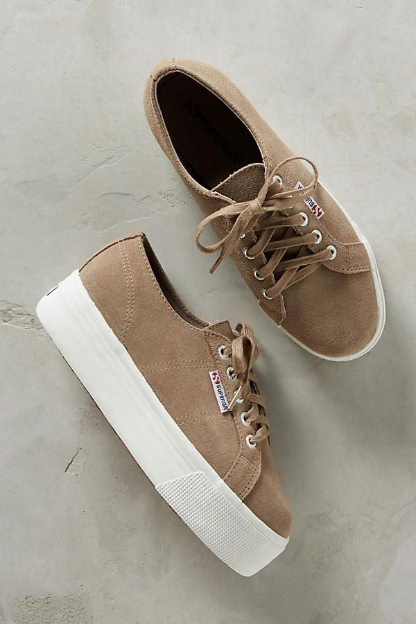 Superga Suede Platform Sneakers | Anthropologie