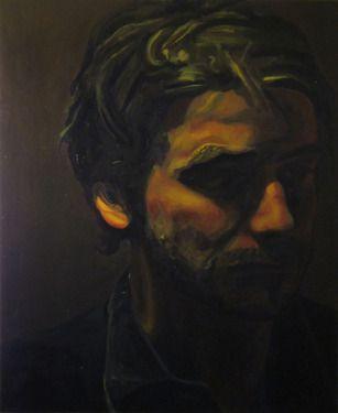 "Saatchi Online Artist Carlisle Bell; Painting, ""Kirk"" #art"