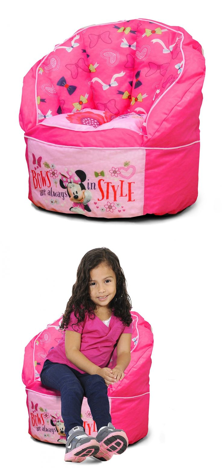 Bean Bags and Inflatables 108428: Disney Minnie Toddler Bean Bag Chair, Pink Bean Bag Chair -> BUY IT NOW ONLY: $67.49 on eBay!