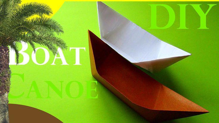 DIY Оригами ЛОДКА. Как сделать КАНОЭ из бумаги | Origami How to Make a Paper Boat Canoe. #DIY #Origami #Paper #Handmade #Howtomake #Craft #Оригами #МК #мастеркласс #КакСделать #СвоимиРуками #ПоделкиИзБумаги #чтоподарить #подароксвоимируками #деньрождения