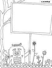 coloring page templates