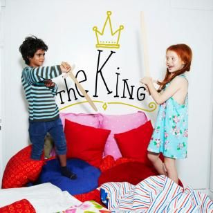 Autocolant The King vinyl