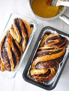 Babka au chocolat et à l'orange