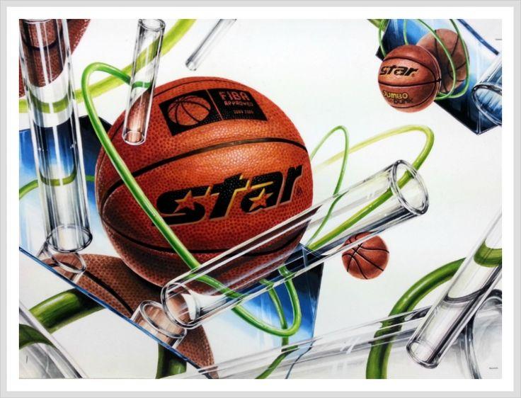농구공 & 훌라후프 & 유리막대(투명체) & 거울(반사체)
