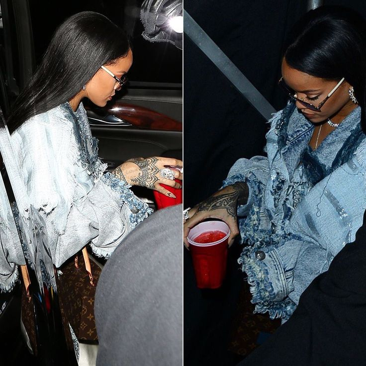Rihanna Wears Faith Connexion Resort 2016 to Drake Concert