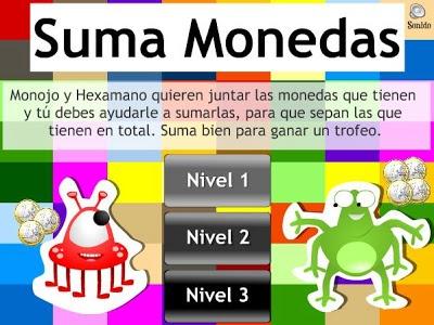 SUMA MONEDAS | Recursos para Primer Ciclo