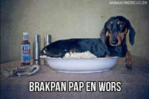 Brakpan pap en wors  #Suidafrika #grappe #afrikaans #snaaks