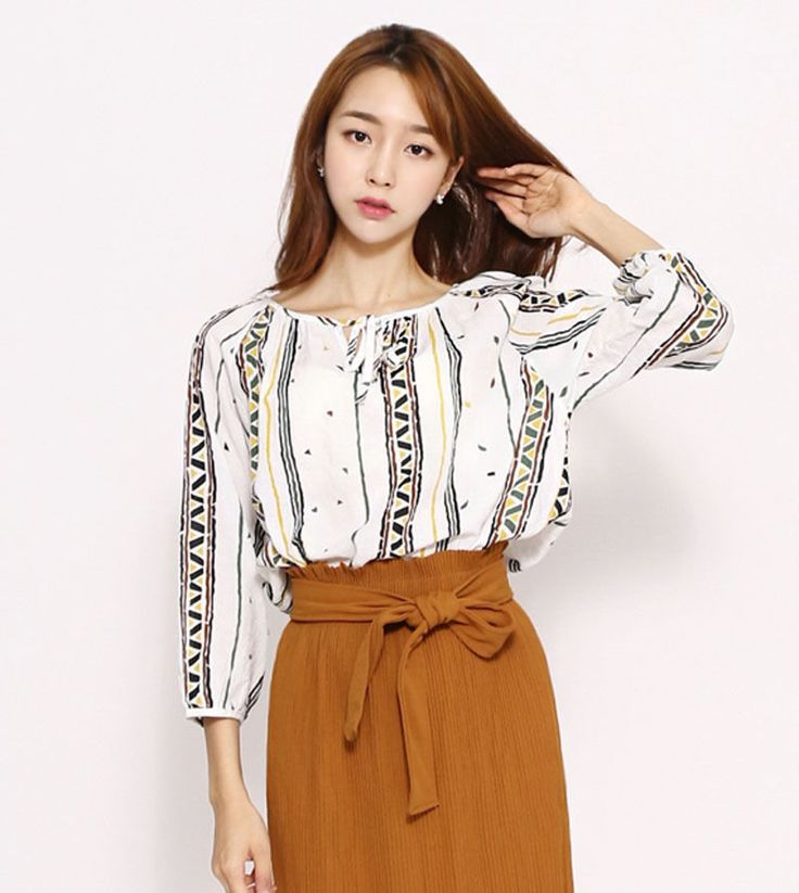 8137 Sherly Women's Long Sleeve Lovely Top/Blouse, One Size, 2 options…