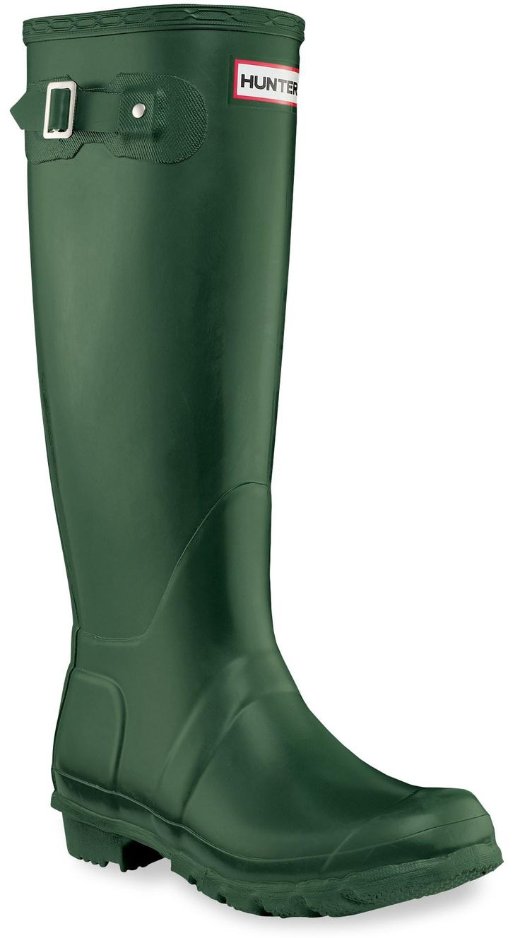 Splash through a stream, stroll in the rain; these boots make the perfect gift for her at any time of the year! Hunter Original Tall Wellington Rain Boots - Women's.