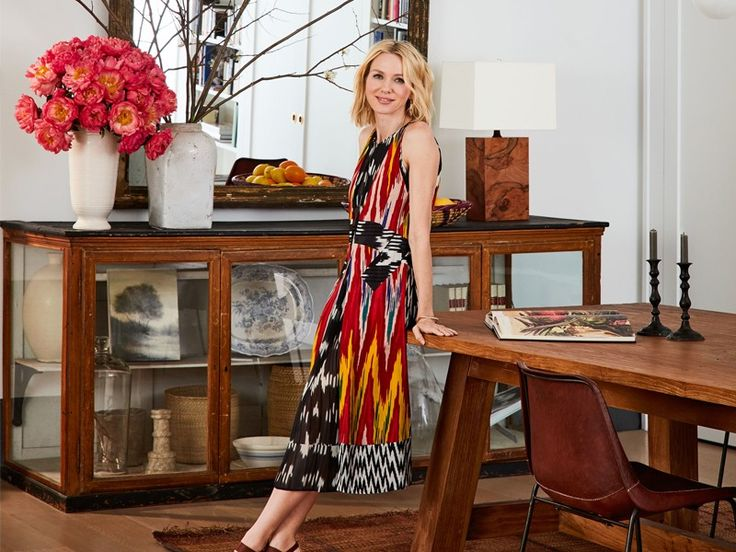 Look Inside Naomi Watts and Liev Schreiber's Gorgeous NYC Apartment via @MyDomaine